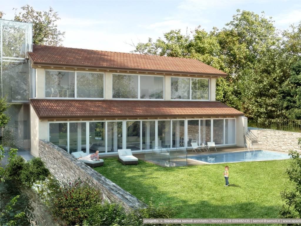 foto ESTERNO Villa unifamiliare via per barzano', Sirtori