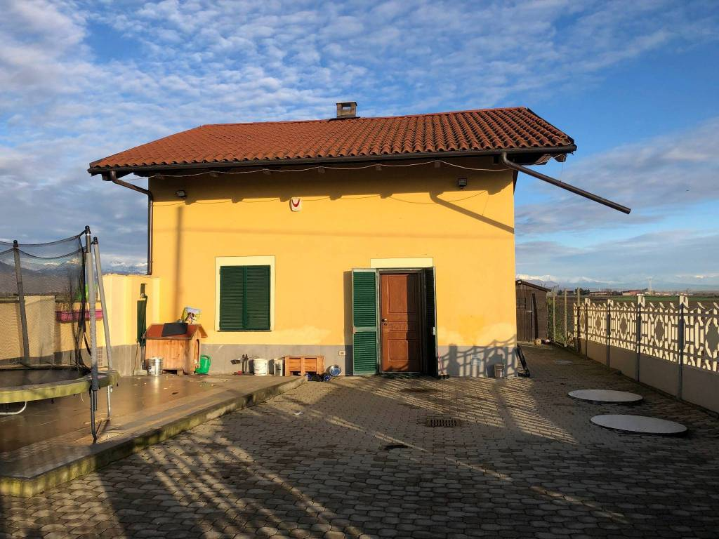 foto Esterno Single family villa regione Alberetta, Scalenghe