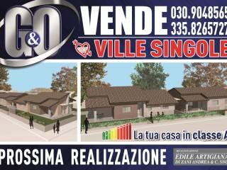 Foto - Villa unifamiliare, nuova, 162 mq, Milzano