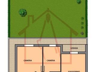 Foto - Appartamento ottimo stato, piano terra, Borgoforte, Anguillara Veneta