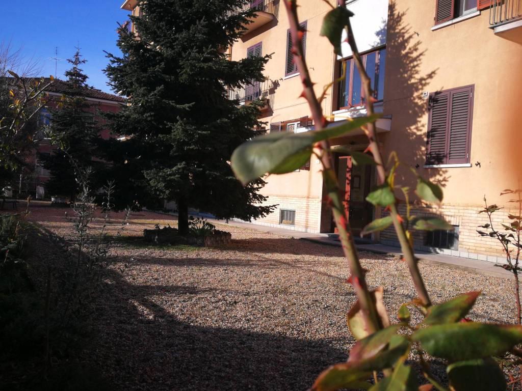foto Cortile Trilocale via San Matteo 7, Nichelino