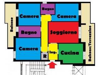 Foto - Quadrilocale buono stato, primo piano, San Silvestro, Pescara