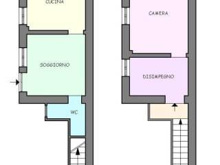 Foto - Casa indipendente 57 mq, da ristrutturare, Pitelli, La Spezia