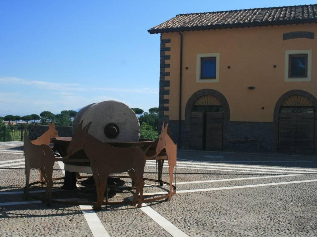 foto Giardino Comune Trilocale via Tuscolana 32, Frascati