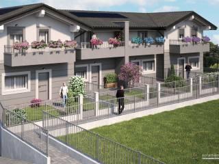 Foto - Villa a schiera via Monterosa, Misinto