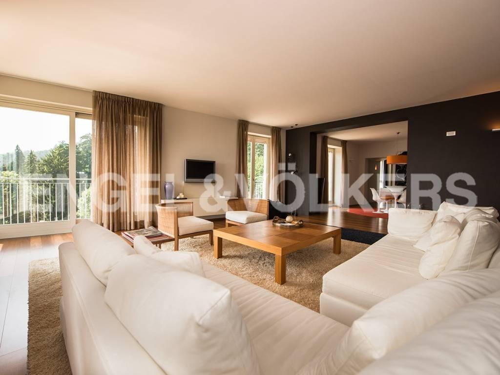 foto sala Appartamento viale del Santuario, Varese