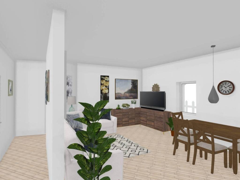 foto zona giorno Appartamento in villa via Bosin, Ziano di Fiemme