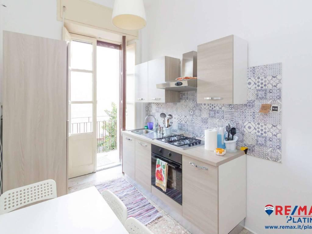 foto cucina Quadrilocale via rametta 67, Catania