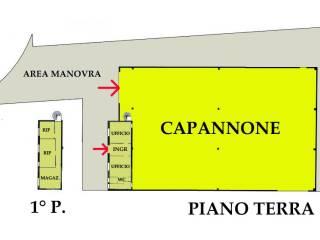 Foto - Capannone all'asta via Alessandro Volta, San Giorgio di Mantova