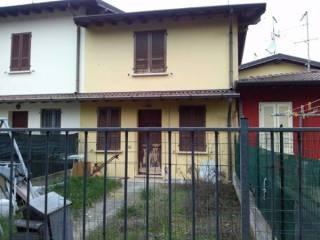 Foto - Villa a schiera via Ghidella 7, Milzano