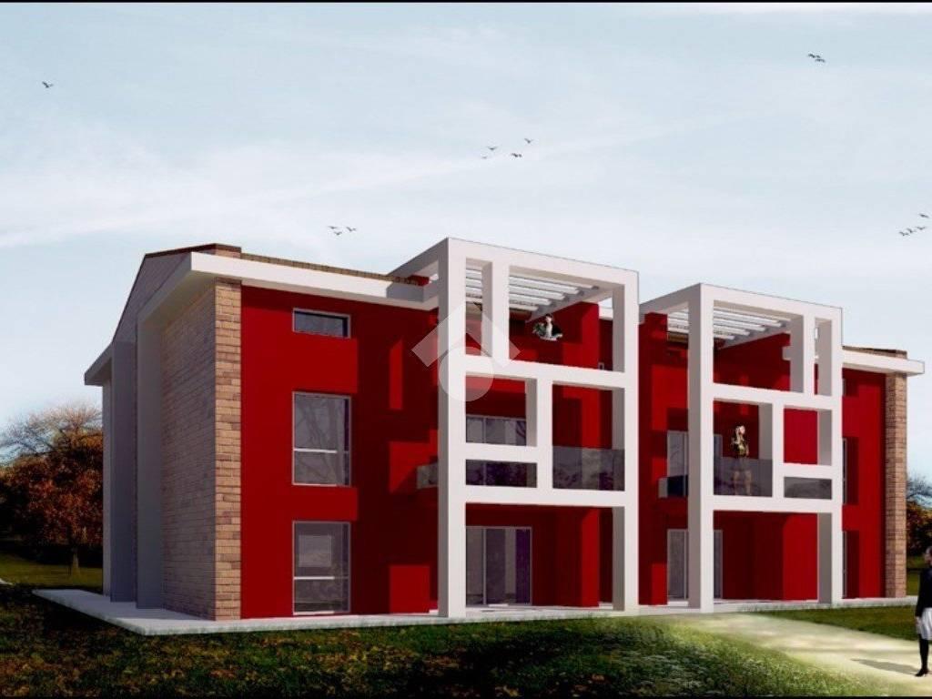 foto edificio esterno Quadrilocale via Dante Alighieri, -1, Noceto