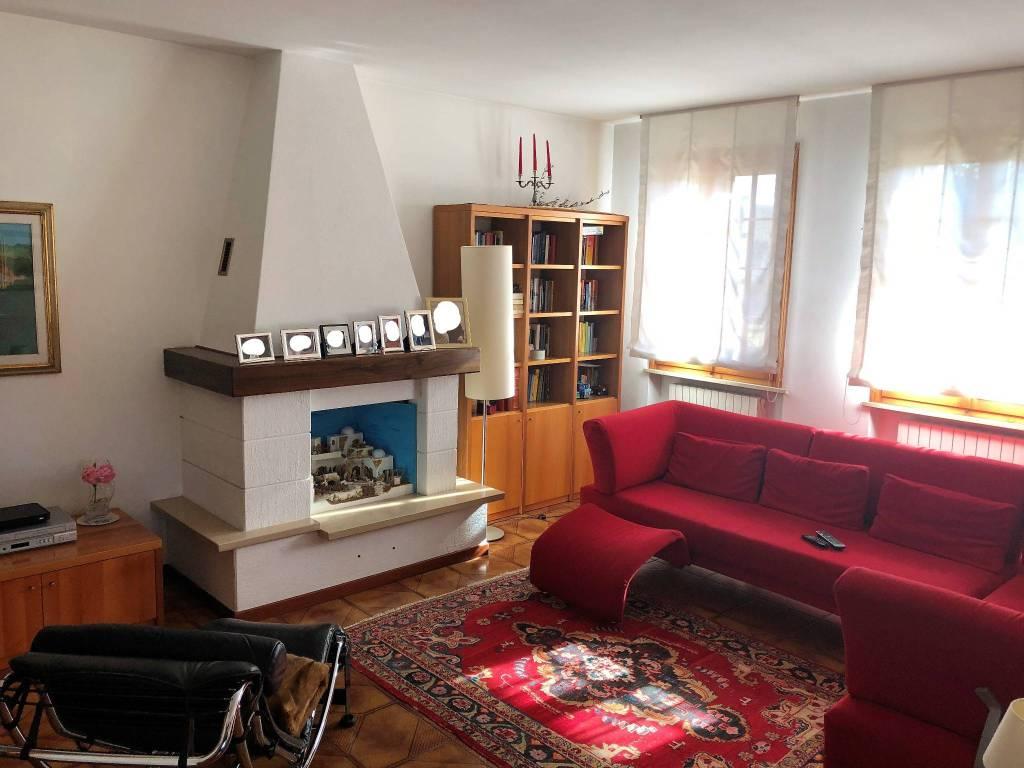 foto soggiorno Single family villa via Villette, Trevignano