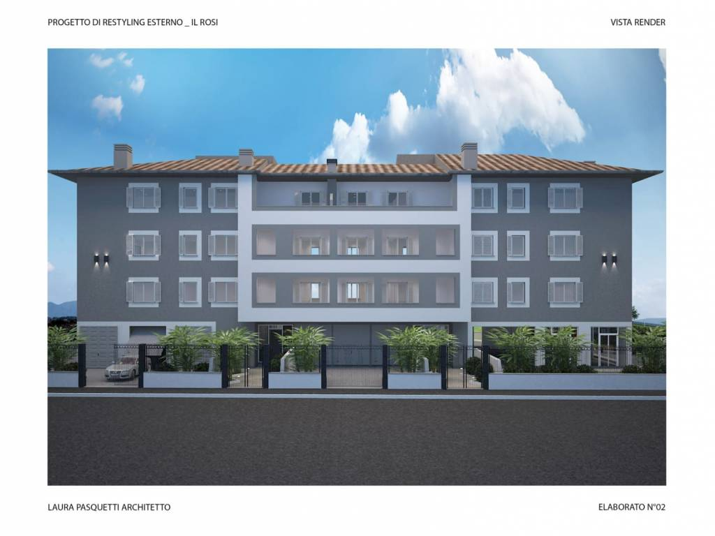 foto  4-room flat new, second floor, Campi Bisenzio