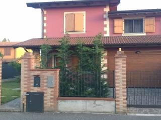 Foto - Villa a schiera via Scalabrina, Torlino Vimercati