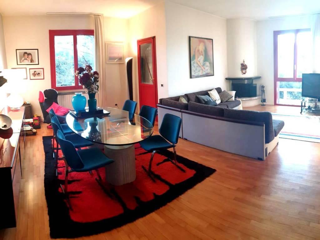 foto Soggiorno Single family villa, excellent condition, 191 sq.m., Rodigo