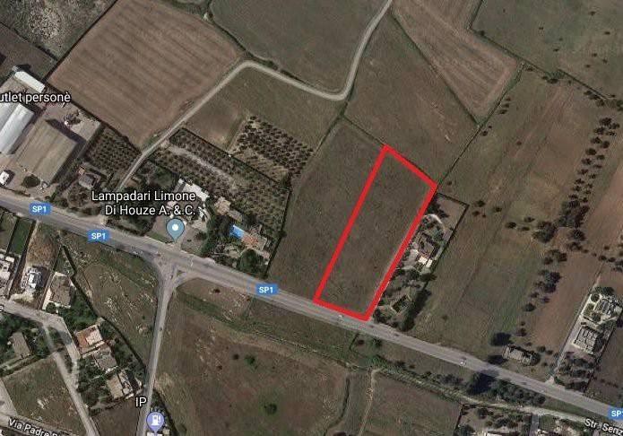 foto planimetria Terreno agricolo in Vendita a Lizzanello