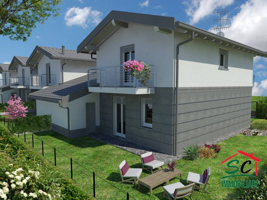 Nuove Costruzioni Olgiate Comasco vendita villa unifamiliare in via aristotele gabelli olgiate