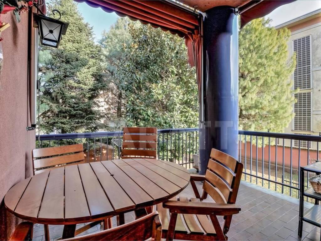 foto terrazza Villa a schiera via della Birona, Monza