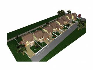 Foto - Villa a schiera via Guglielmo Marconi, Vicolungo