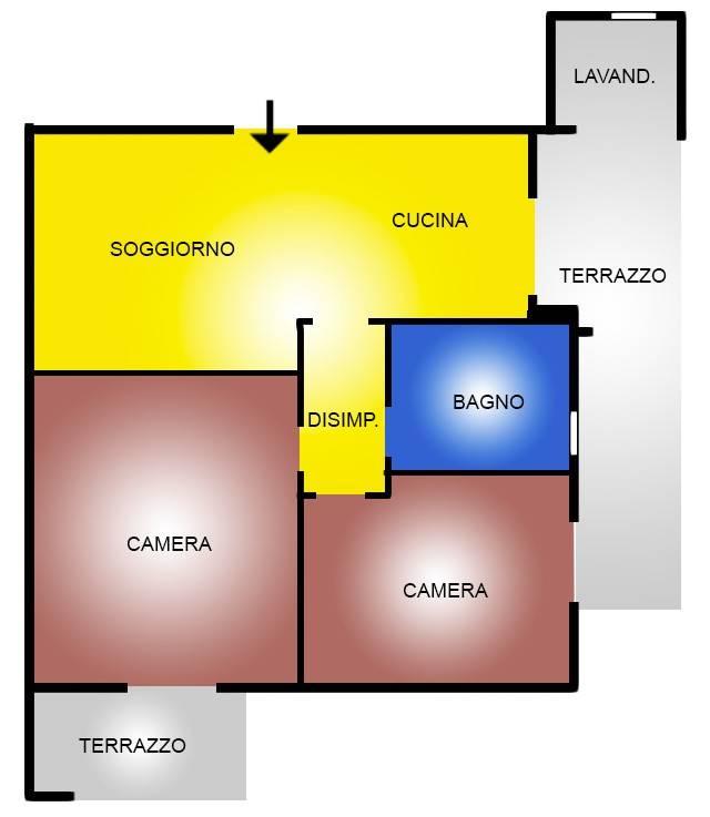 foto  Trilocale nuovo, ultimo piano, San Giovanni Teatino