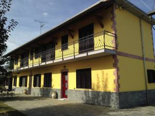 Foto - Villa bifamiliare Strada del Po 13, Pellizzari, Pecetto di Valenza