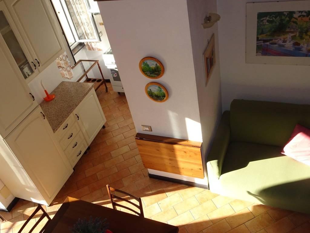 foto sala 4-room flat via Arbora, Avegno