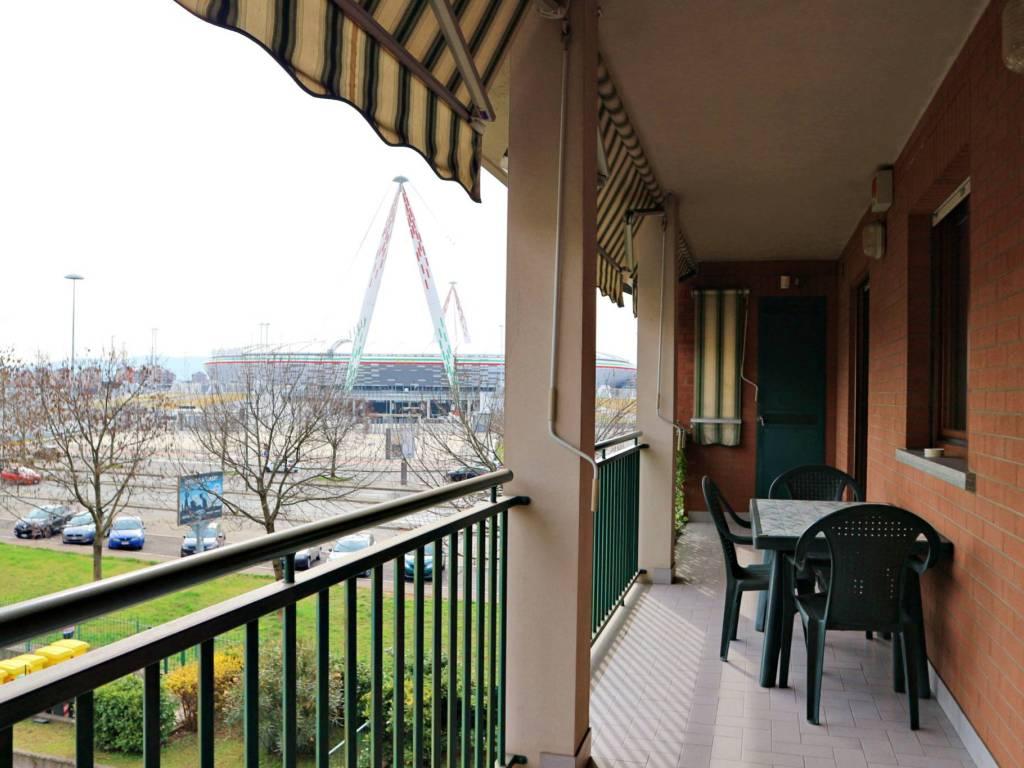 foto vista Apartment via Gilberto Mosele 29, Venaria Reale