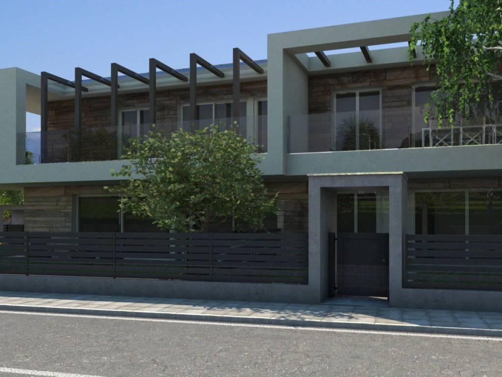 foto  Villa a schiera via San Celso, Treviolo