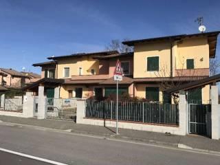 Foto - Villa a schiera via Stazione, Acquanegra Cremonese