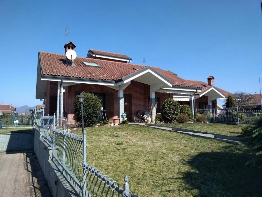foto LATO SUD Villa unifamiliare via Maestro Giovanni Carena, Airasca