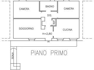 Foto - Quadrilocale primo piano, Racconigi