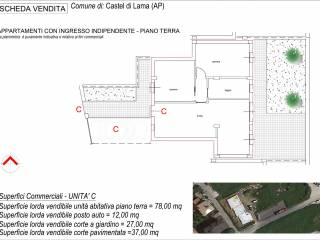 Foto - Trilocale via Vigna, Castel di Lama