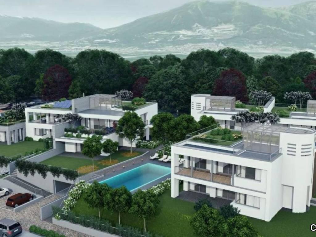 foto VISUALE ESTERNA Nuovi Appartamenti a Garbagnate Monastero