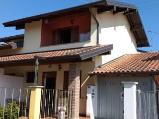 Foto - Villa a schiera via Lazzaretto, Borgo Ticino