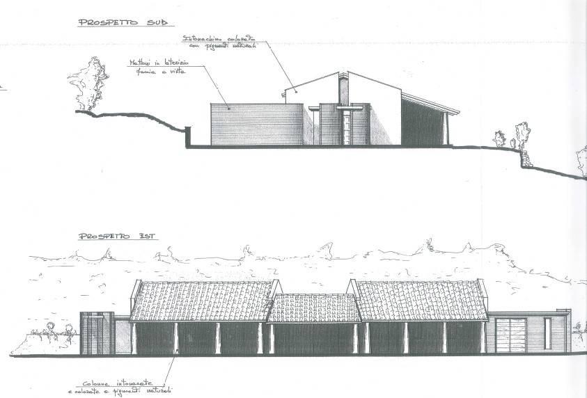 foto  Villa bifamiliare, nuova, 770 mq, Meldola