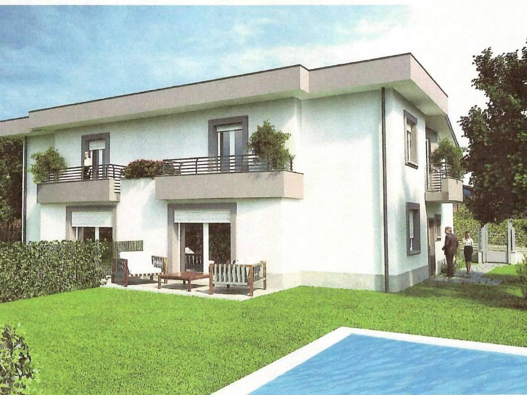 foto render 1 Villa bifamiliare via pagani, Appiano Gentile