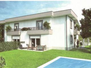 Foto - Villa bifamiliare via pagani, Appiano Gentile