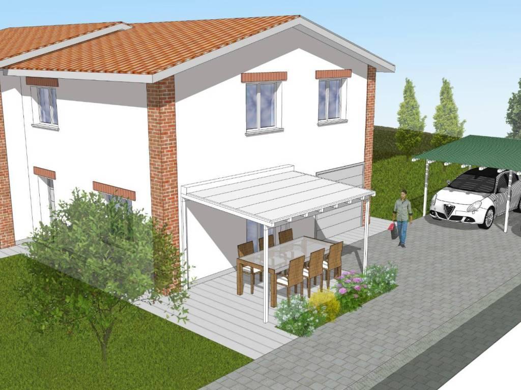 foto 1 Villa bifamiliare via Saletta 6, Sala Bolognese