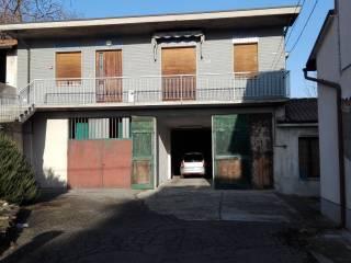 Foto - Villa unifamiliare, da ristrutturare, 240 mq, Canneto Pavese