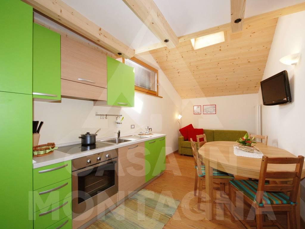 foto zona giorno Appartamento corso Dolomiti, Predazzo