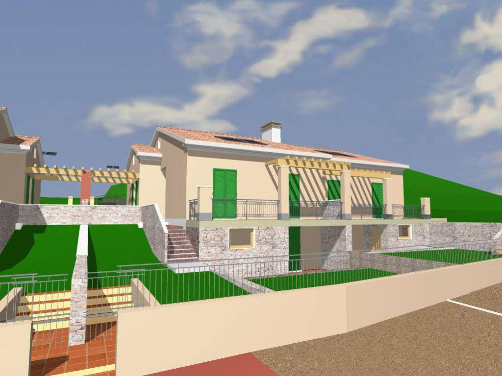 foto vista Villa bifamiliare, nuova, 108 mq, Ortonovo