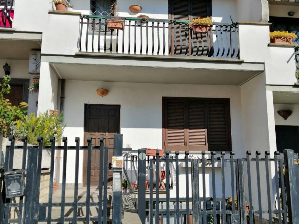 foto vista Terraced house via Cimabue, Fonte Nuova