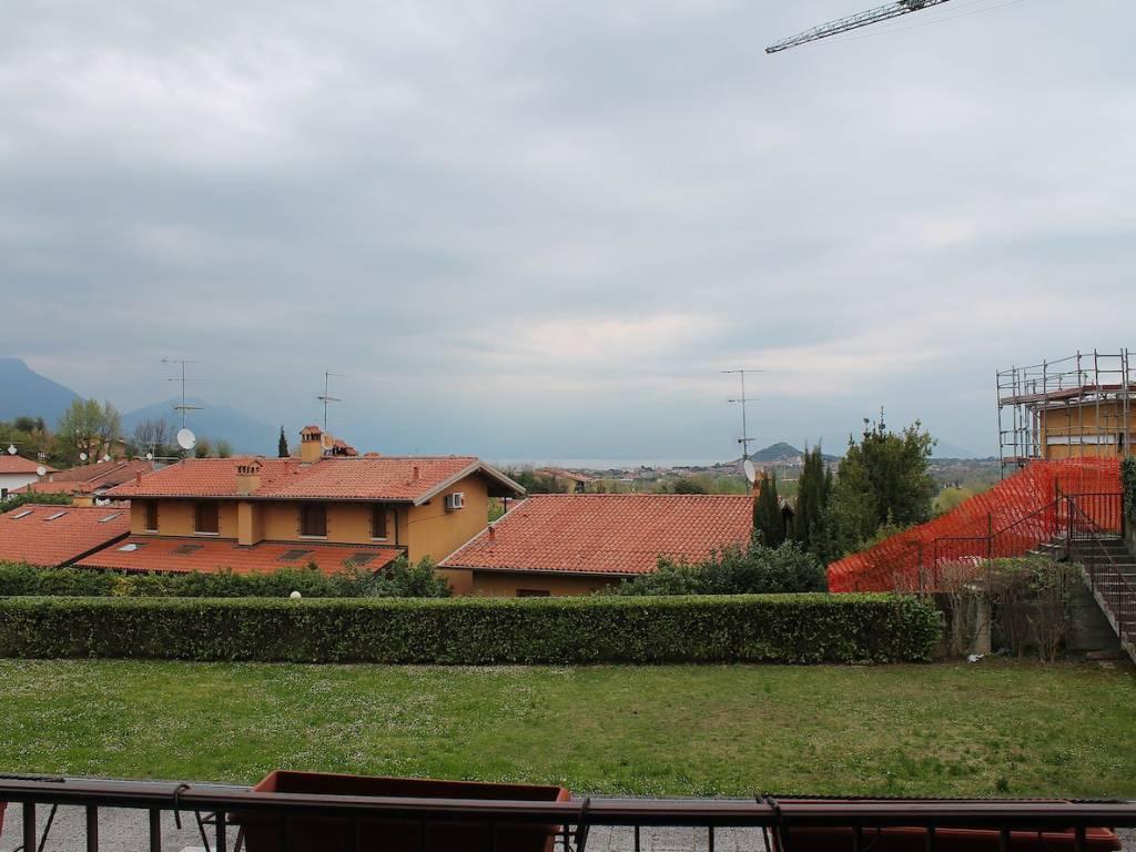 foto Vista Villa a schiera via Cornale, Soiano del Lago