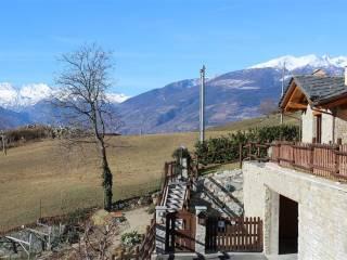 Foto - Villa a schiera 5 locali, ottimo stato, Quart