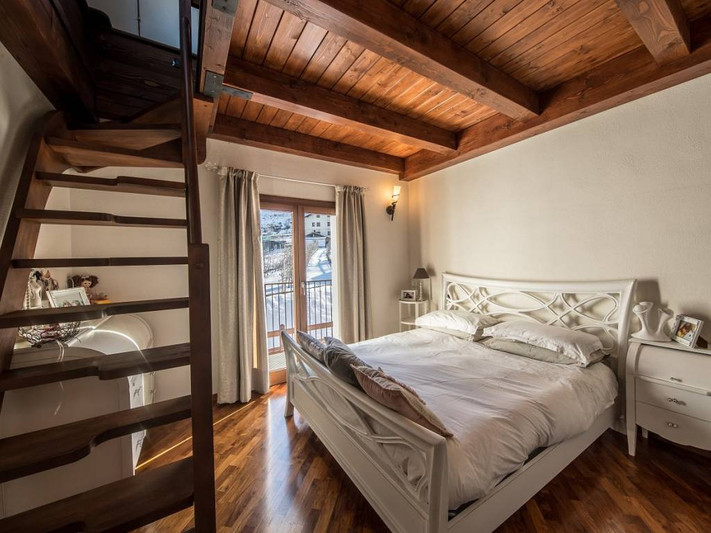 foto bed1 Two-family villa frazione Viseran, Gressan