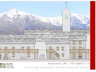 Foto - Villa a schiera via Capelli, Frassinetto