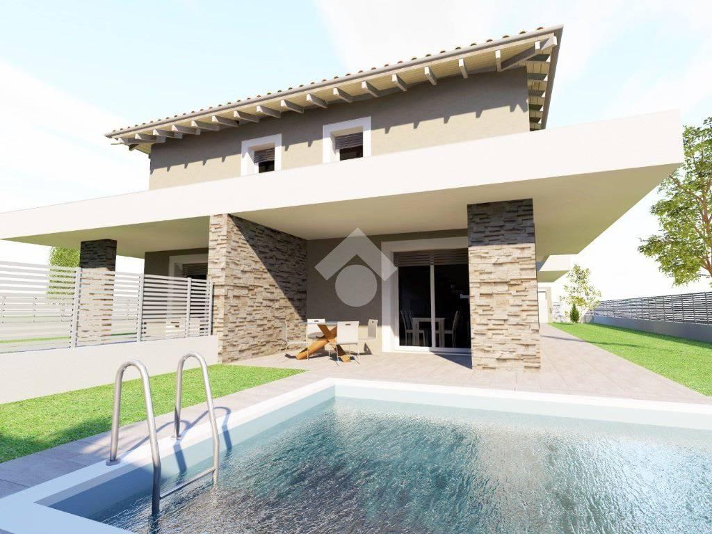 foto  Villa bifamiliare via Antonio Gramsci 52, Erbusco