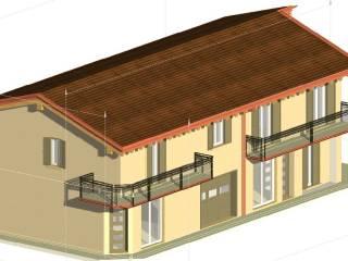 Foto - Villa bifamiliare, nuova, 130 mq, Trevenzuolo