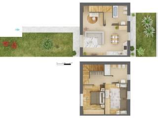 Foto - Villa unifamiliare, nuova, 113 mq, Castronno