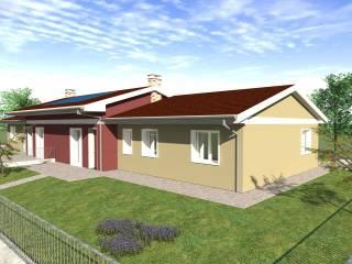 Photo - Two-family villa, new, 190 sq.m., Trevenzuolo